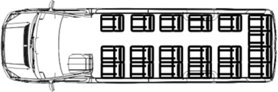 Схемы расположения сидений