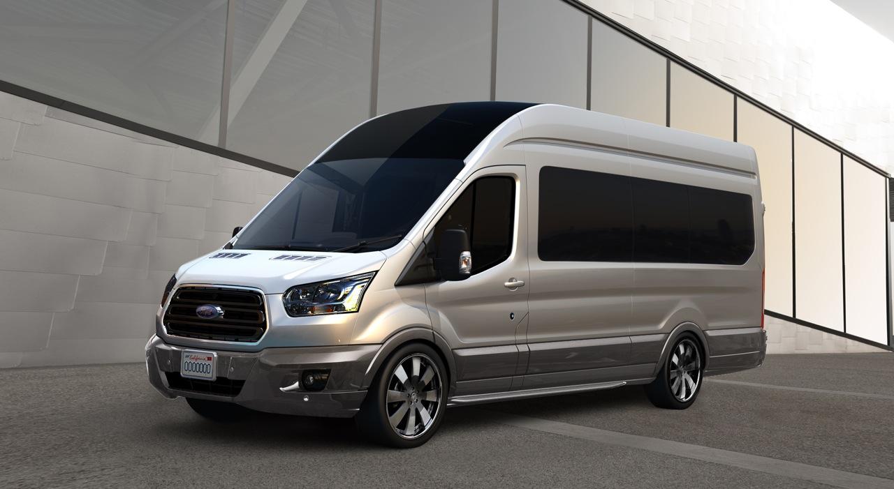 Тюнинг микроавтобусов форд